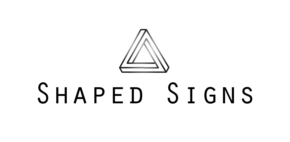 shaped signs Logo Referenz